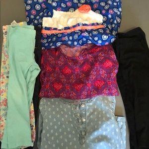 Other - 8pc Girls Lot 3T Leggings, Dresses, Tunic Shirt